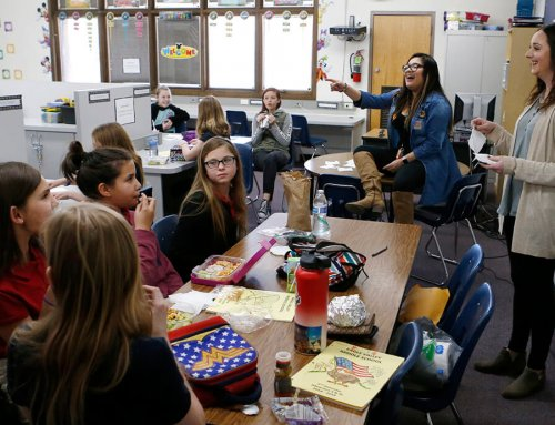 Eagle Valley students SOAR in service to others