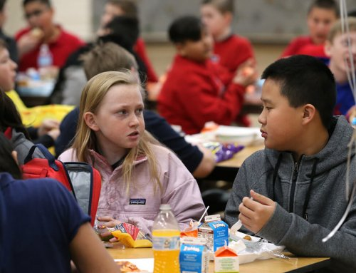 Students make sure No One Eats Alone